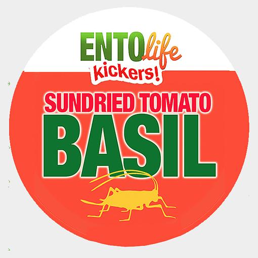 Mini-Kickers | Sun Dried Tomato Flavored Crickets