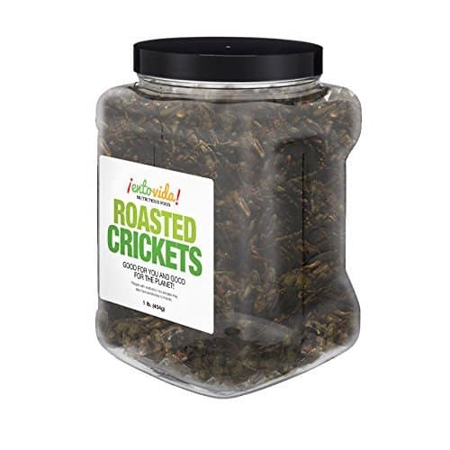 Crickets for Human Consumption - 1 Pound