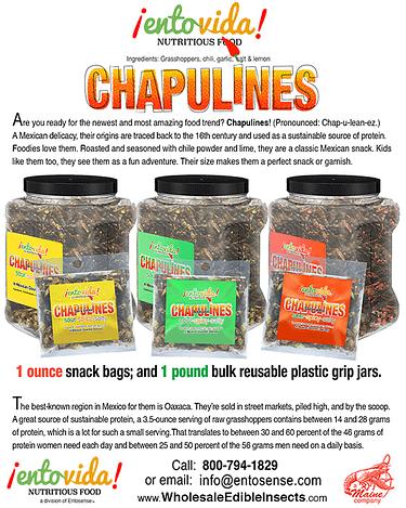 Chapulines Line Sheet
