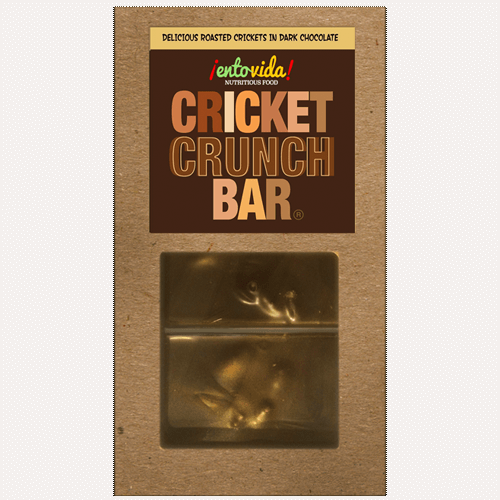 Cricket Crunch Bars - Dark Chocolate