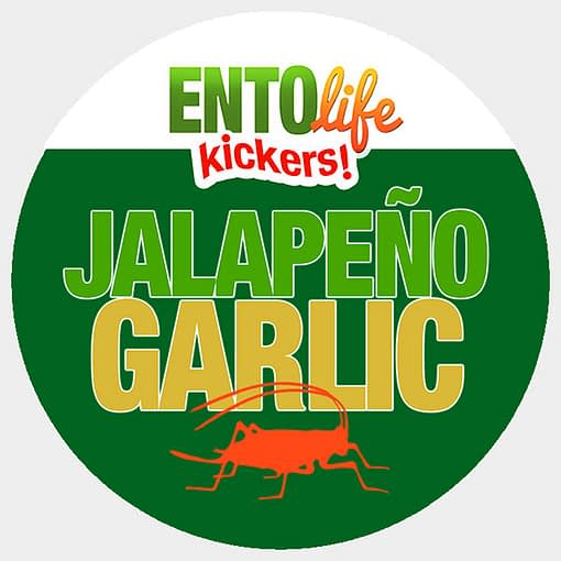Mini-Kickers | Jalapeno Garlic Flavored Crickets