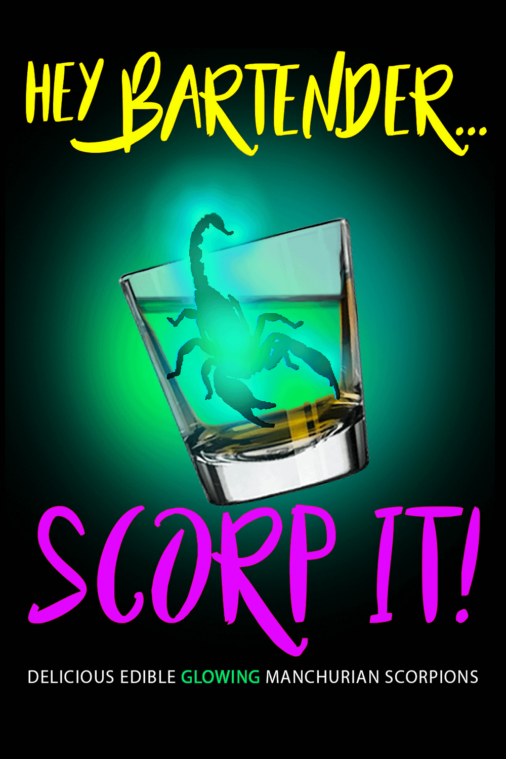 Scorp-It Table Card