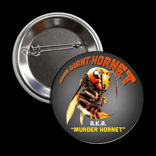 Button - Asian Giant Hornet