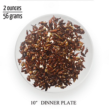 Chapulines Serving Size
