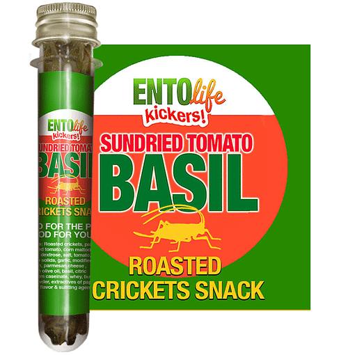 Tomato Basil Flavored Crickets