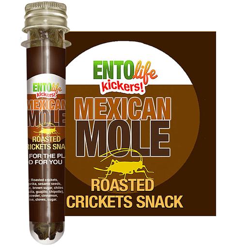 Mexican Mole Flavored Crickets