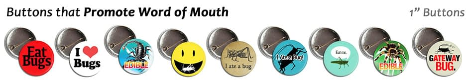 Wholesale Bug Buttons