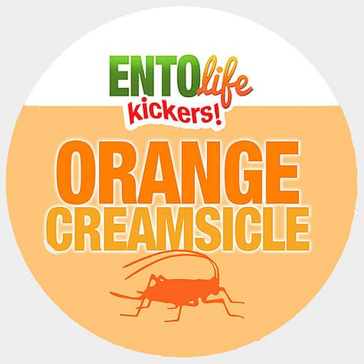 Mini-Kickers | Orange Creamsicle Flavored Crickets