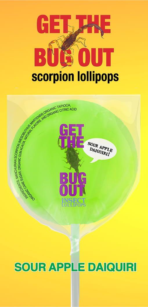 Apple Scorpion Lollipop