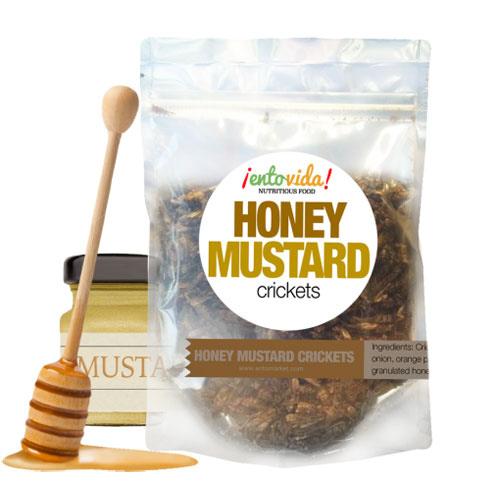 Honey Mustard Cricket Snacks