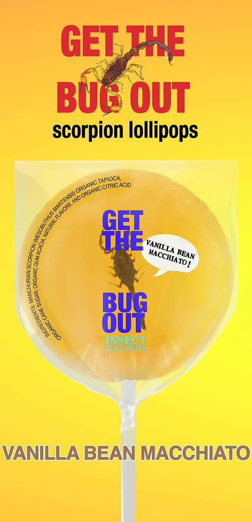Vanilla Scorpion Lollipop