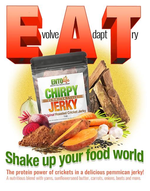 Chirpy Jerky Sales Sheet