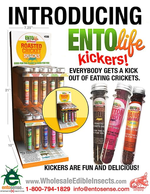 Mini-Kickers Flavored Crickets