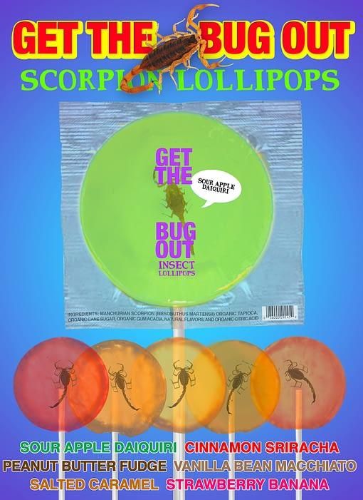 Scorpion Lollipops Wholesale