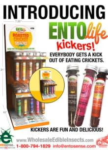 Mini-Kickers Flavored Crickets