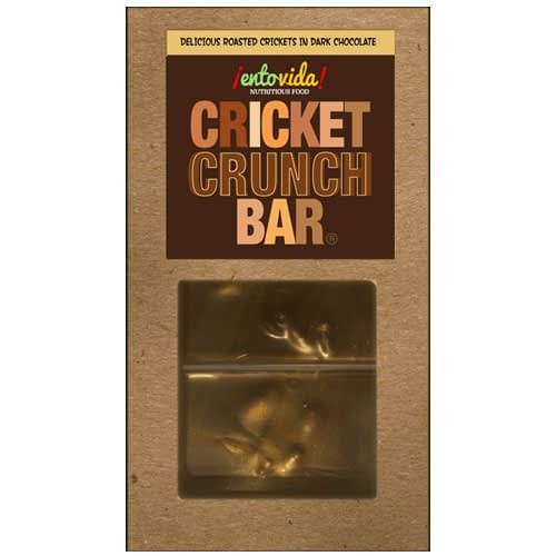 Dark Chocolate Cricket Crunch Bar