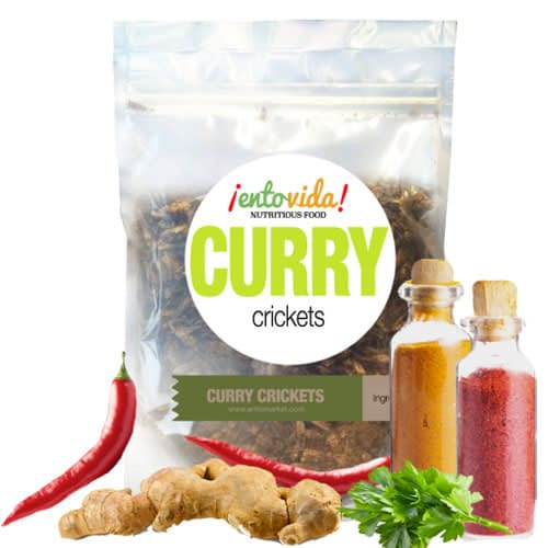 Curry Cricket Snacks