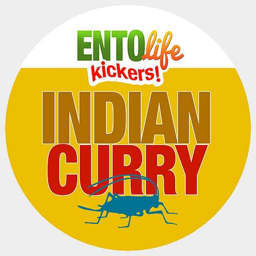 Mini-Kickers | Indian Curry Flavored Crickets