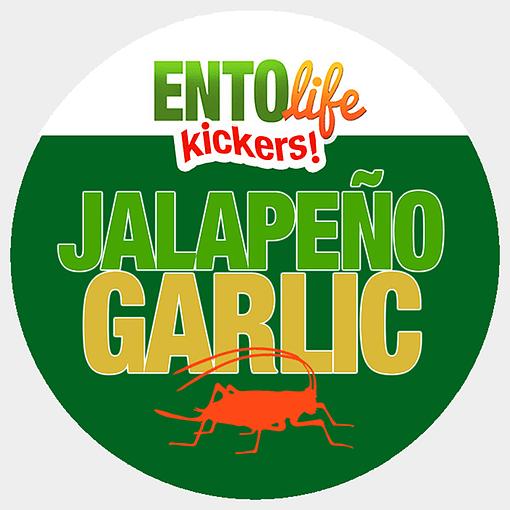 Mini-Kickers | Jalapeno Garlic Flavored Crickets