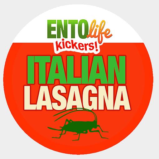 Mini-Kickers | Italian Lasagna Flavored Crickets