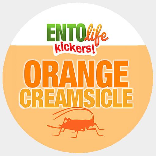 Mini-Kickers | Orange Creamsicle Flavored Crickets