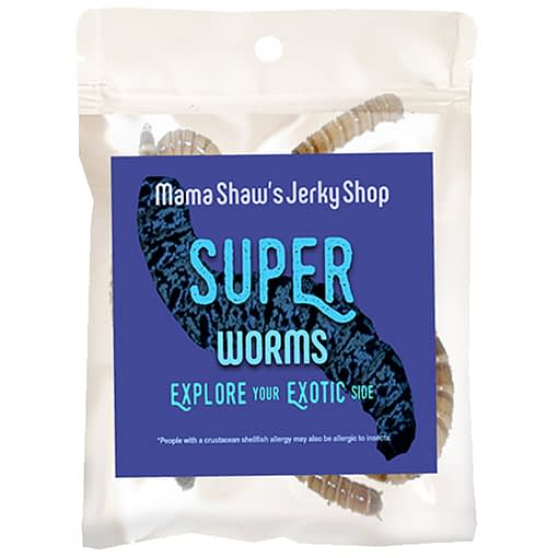 Edible Superworms